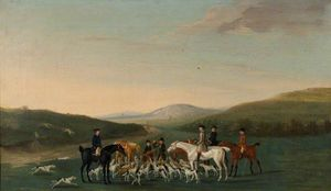 Hunting Scene -