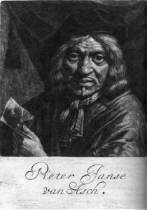 Portrait Of Pieter Van Asch