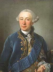 Portrait Of Heinrich Schimmelmann