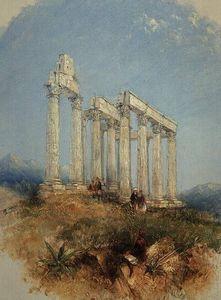 el templo de júpiter Olimpio , Atenas