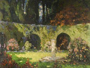 In An Old-world Garden