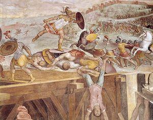 Horatius Cocles On The Sublician Bridge -