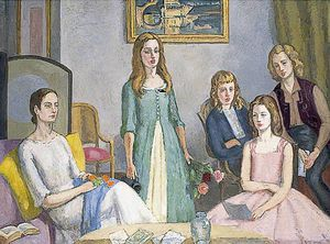 Angelica Garnett And Her Four Daughters
