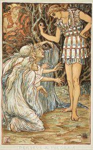 Perseus y el Graia