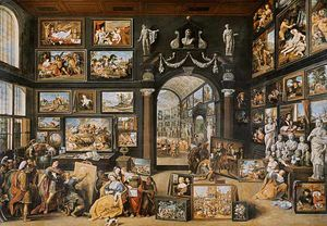 The Studio Of Apelles
