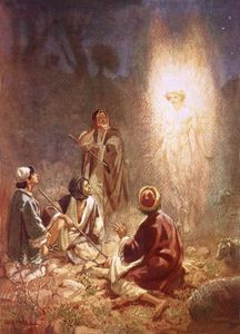 An Angel Announcing To The Shepherds Of Bethlehem
