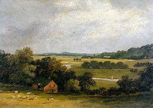 Whitlingham From Old Thorpe Grove, Norfolk