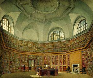 Buckingham House, Octagon Library