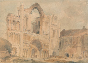 Castle Acre Priory, Norfolk, West Front