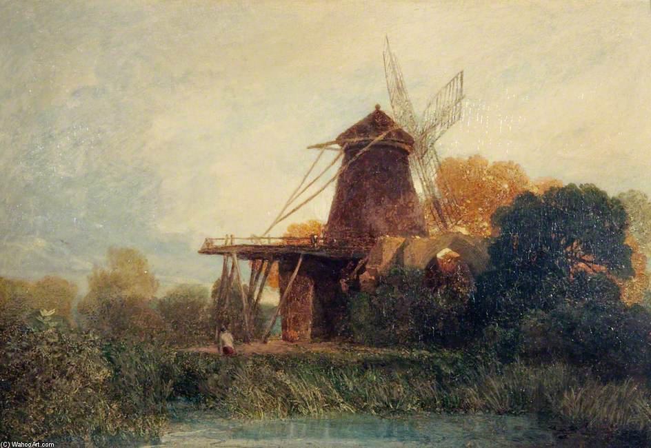 WikiOO.org - Encyclopedia of Fine Arts - Maalaus, taideteos John Sell Cotman - St Benet's Abbey, Norfolk