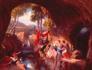 Diana And Acteon (the Bath Of Diana)