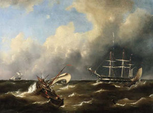 Ships On Stormy Seas