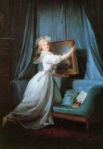 Portrait De Mademoiselle Rosalie Duthe