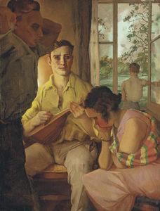 Wikioo.org - The Encyclopedia of Fine Arts - Artist, Painter  Konstantin Andreevic Somov