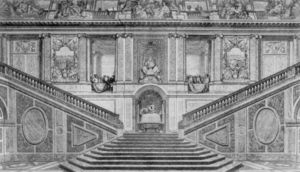 Escalier Des Ambassadeurs In Versailles