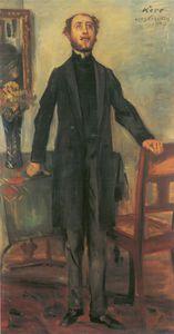 Portrait Of Alfred Kerr