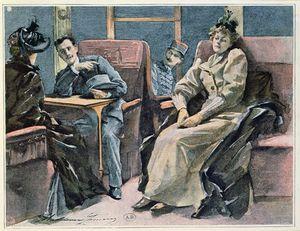 Scene In A Train