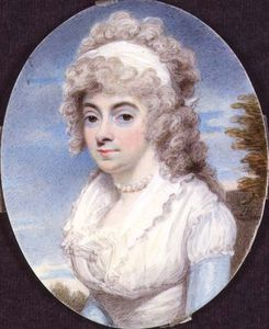 Miniature Of Unknown Woman