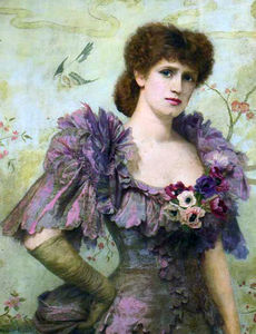 Portrait Of Lillie Langtry