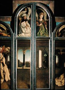 The Ghent Altarpiece - Exterior Of The Left And Right Shutters