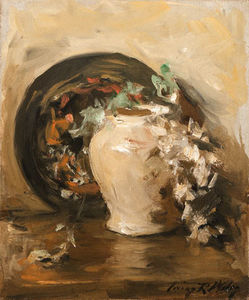 Wikioo.org - The Encyclopedia of Fine Arts - Artist, Painter  Irving Ramsey Wiles