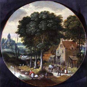 Wikioo.org - The Encyclopedia of Fine Arts - Artist, Painter  Isaak Van Oosten
