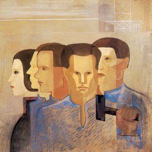 Wikioo.org - The Encyclopedia of Fine Arts - Artist, Painter  Istvan Desi Huber