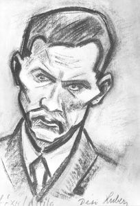 Portrait Of Attila József Poet