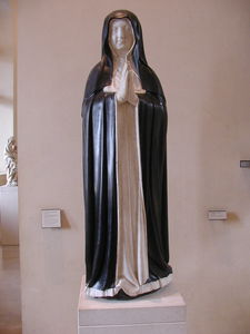 Statue Of Marie De Bourbon, Prieure Des Dominicaines De Saint-louis De Poissy