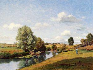 The River Saone Near Grignancourt