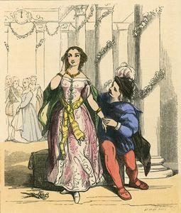 Cinderella At The Prince's Ball