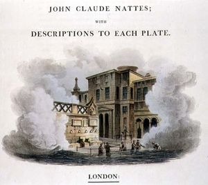 Taking The Waters At Bath, Frontispiece To 'bath