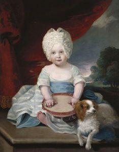 Portrait Of Amelia Of The United Kingdom