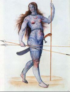 Pictish Woman Large