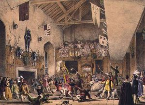 Twelfth Night Revels In The Great Hall,