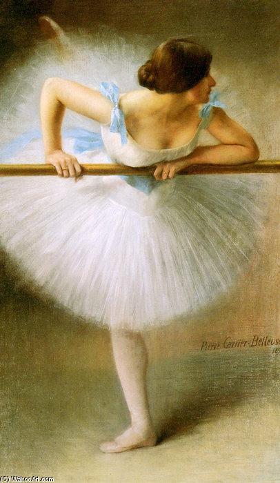 Wikioo.org - The Encyclopedia of Fine Arts - Painting, Artwork by Albert Ernest Carrier Belleuse - La Danseuse