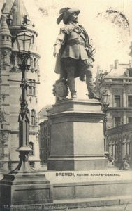 Gustav Adolf-denkmal In Bremen
