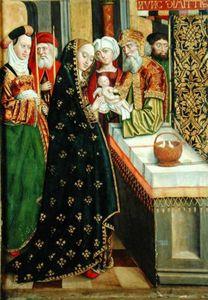 La Presentación en el templo, altar de la bóveda