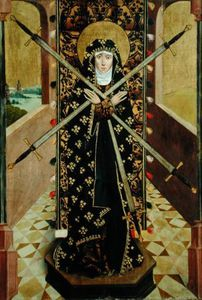Virgin Of Seven Sorrows From The Dome Altar