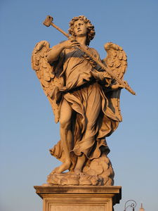 Angel Bearing A Sponge At Ponte Sant Angelo