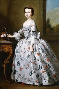 Portrait Of A Girl, Full-length,