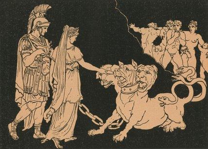 Wikioo.org – La Enciclopedia de las Bellas Artes - Pintura, Obras de arte de Bartolomeo Pinelli - Cerberus