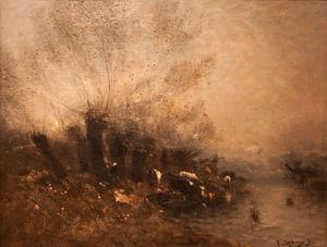Wikioo.org - The Encyclopedia of Fine Arts - Artist, Painter  Bela Spanyi