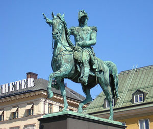 Statue Of Charles Xiv