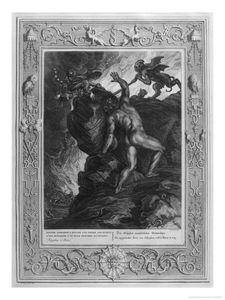 Picart Sisyphus And His Stone