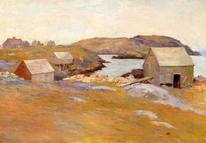 Wikioo.org - The Encyclopedia of Fine Arts - Artist, Painter  Charles Chase Emerson