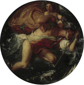 Hermes y el niño Baco -
