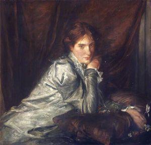 Lady With A Cyclamen