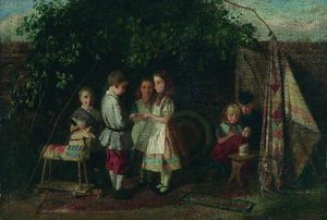 Children Playing - The Fortune Teller