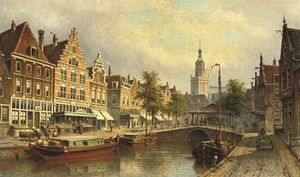 Wikioo.org - The Encyclopedia of Fine Arts - Artist, Painter  Eduard Alexander Hilverdink
